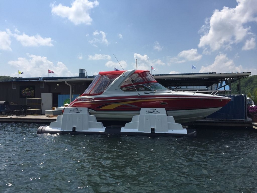 Boat Lift Installation at Lake Cumberland Kentucky